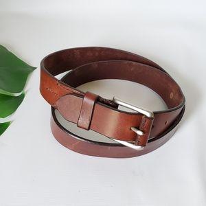 J. Crew Italian Genuine Leather Belt